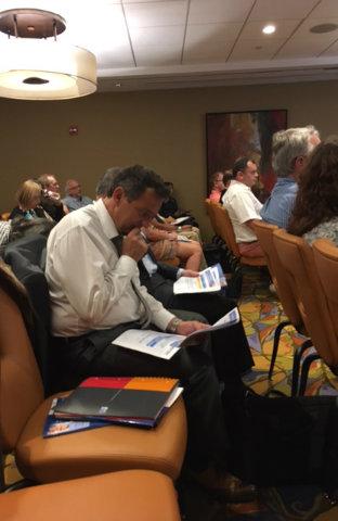 Participants conference retraites Miami