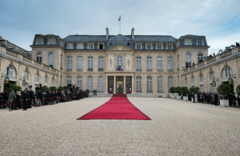 Emmanuel Macron Elysee