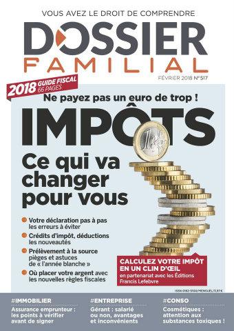 Dossier Familial Règles fiscales